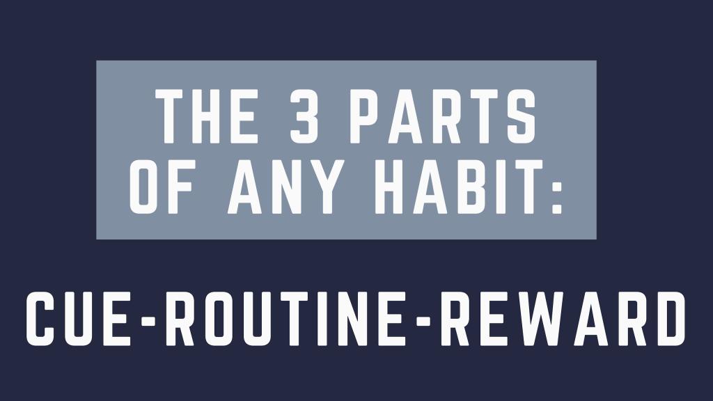 three parts of a habit