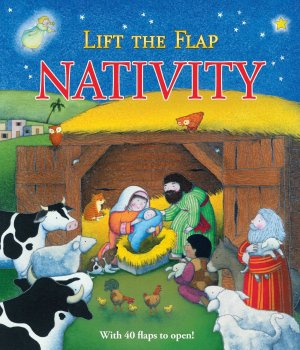 Lift the flap nativity board book