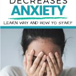 Gratitude decreases anxiety