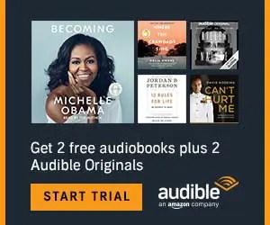 Audible Amazon deal