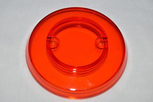 Amber Transparent Pop Bumper Cap 03-8254-8