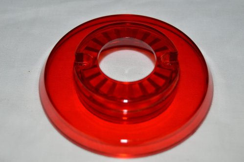 Pop Bumper Cap with Hole, Red 03-9266-9