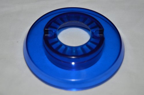 Pop Bumper Cap with Hole, Blue 03-9266-10