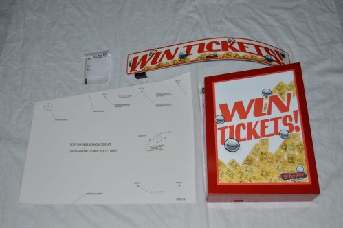 Stern Ticket Redemption Kit w/Mounting Box