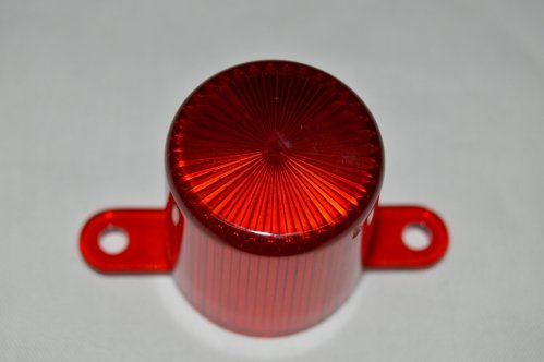 Red Flasher Dome with Tabs 03-8149-9