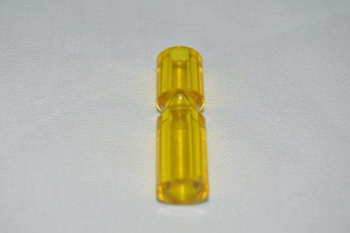"""Yellow Transparent 1 1/4"""" Narrow Post 03-8365-16"""