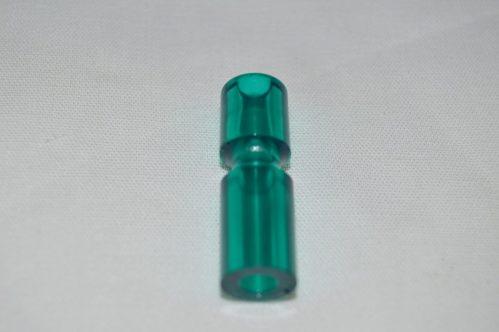 """Teal Transparent 1 1/4"""" Narrow Post 03-8365-25"""