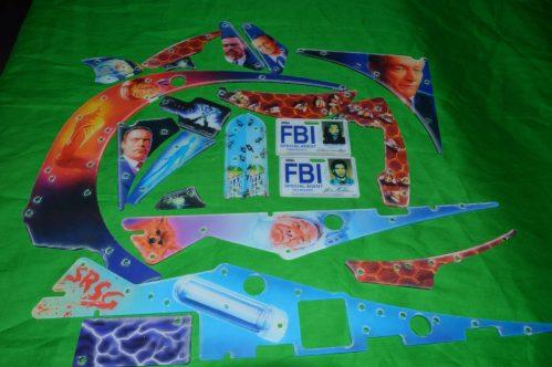 X-Files Complete Plastic Set NOS
