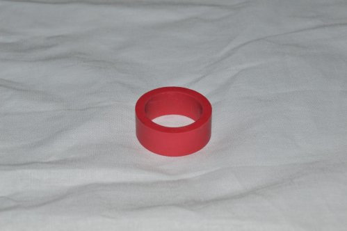 Small Red Flipper Rubber