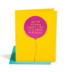 party like it's your birthday - the social type - little shop of wow