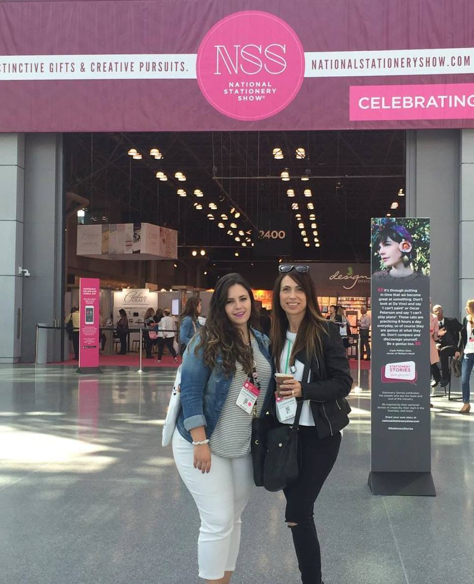 Julia and Daniela at NSS 2016 - Little Shop of WOW