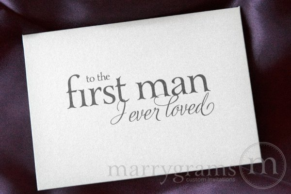 To the first man I ever loved Card - Marrygrams - Little shop of WOW