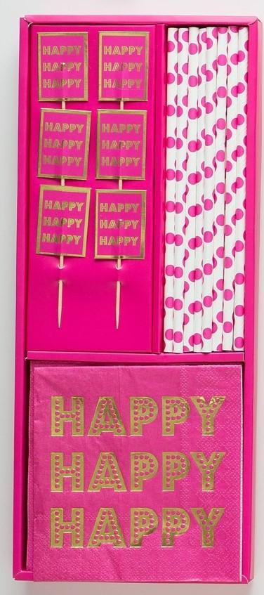 Confetti - Happy BirthYAY! - Prȇt-à-Party Box - Little Shop of WOW