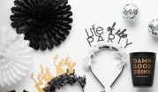 lets-get-cray-pret-a-party-box-little-shop-of-wow-adult-party-in-a-box-black-white-gold-tassle-banner-headbands-lets-party-life-of-the-party-lets-get-cray