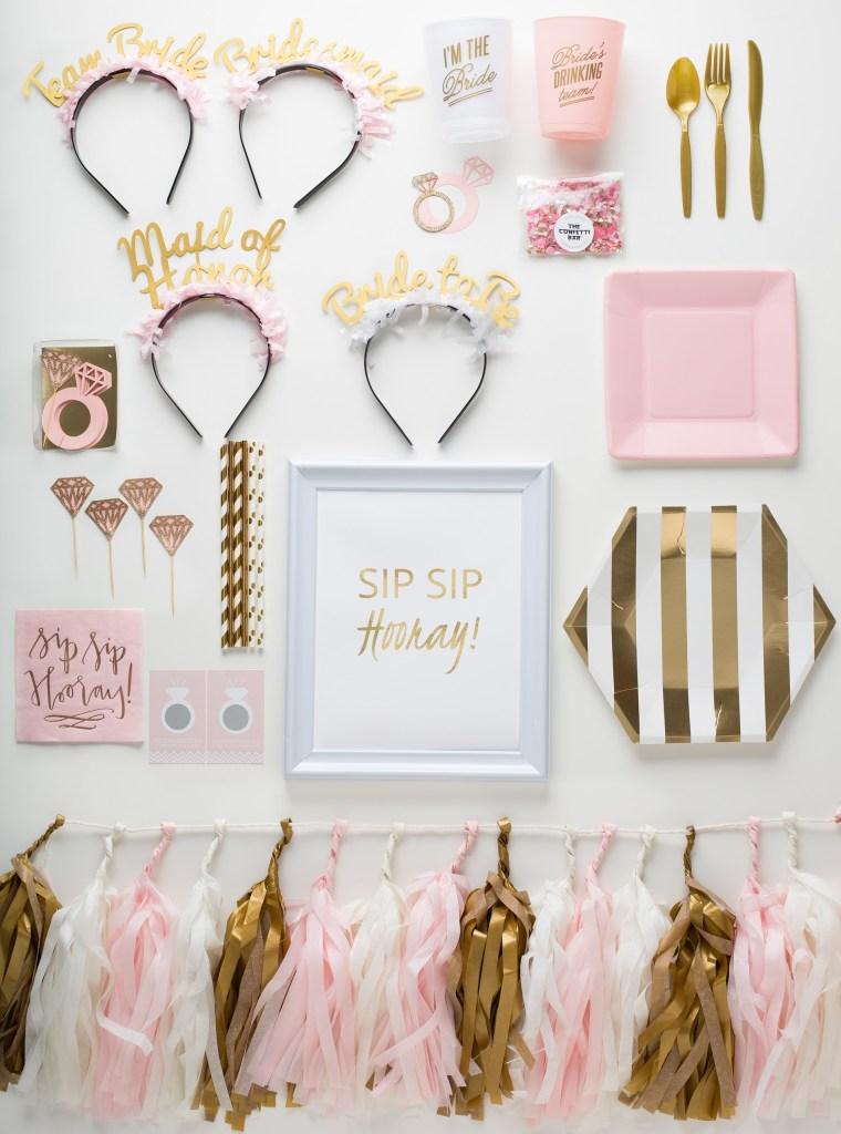 Sip Sip Hooray Bridal Shower Prȇt-à-Party box