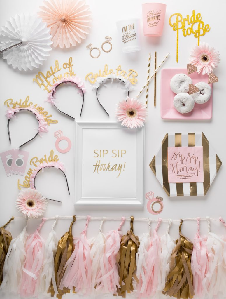 Sip Sip Hooray Bridal Shower Prȇt-à-Party box