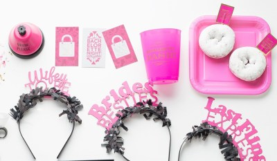 the-bachelorette-pret-a-party-box-little-shop-of-wow-adult-party-in-a-box-bridal-pink-white-black-gold-tassle-banner-headbands-dare-card-game-drinks-please