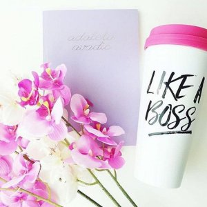 Like A Boss Travel Mug - Little Shop of WOW - Sweet Water Decor - Canada