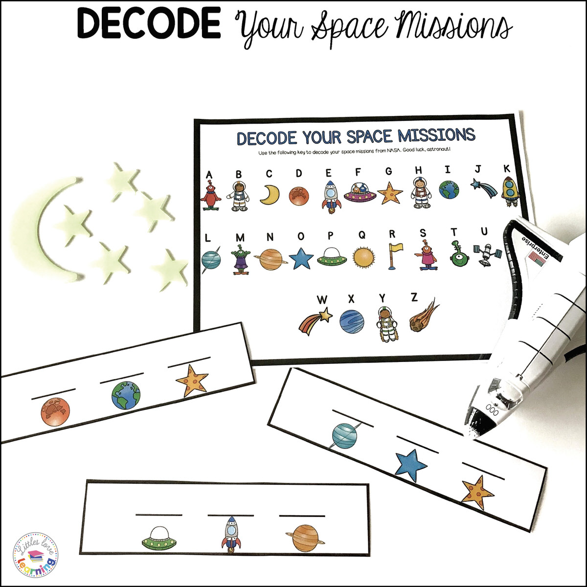 Way Out In Space Preschool Activity Pack Math Amp Literacy