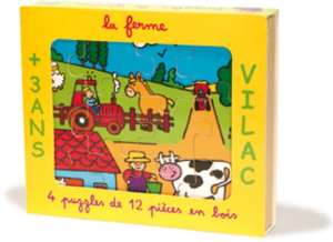 Yellow box with farm scene on front