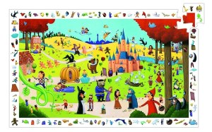 Fairytales observation puzzle