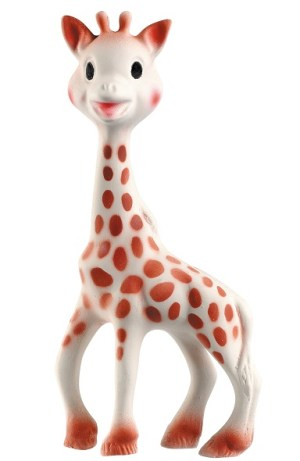Vulli sophie the giraffe teething toy