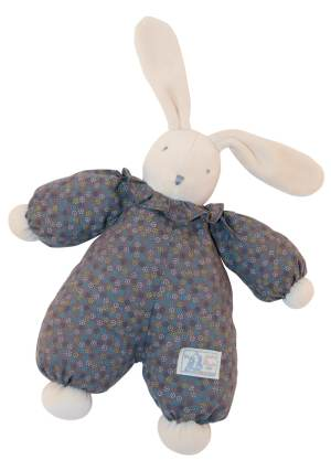 La Douillette grey rabbit doll - Moulin Roty