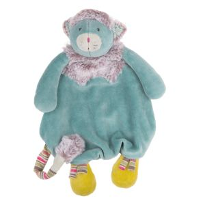 Les Pachats blue cat comforter - Moulin Roty