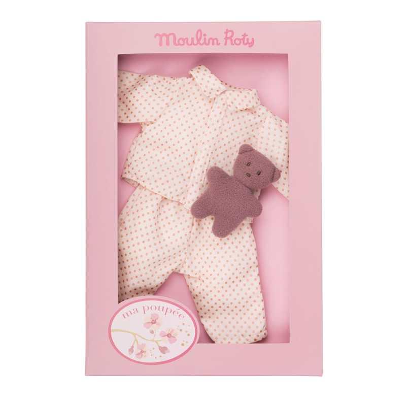 Pyjama set - doll's clothes - Moulin Roty