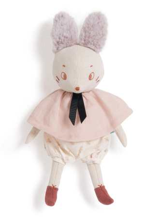 brune the mouse designed by lucille michielli as a soft toy