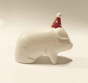polepole christmas pig