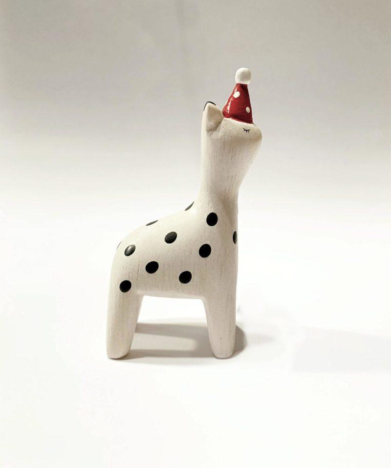 polepole christmas giraffe