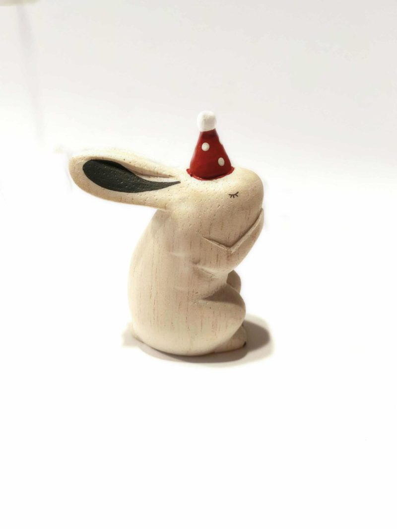 polepole christmas rabbit