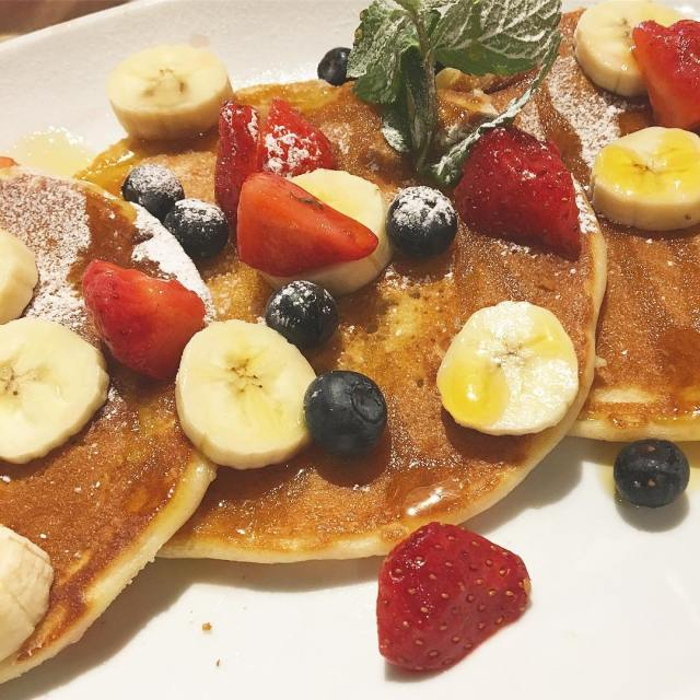 This morning I am not eating these pancakes from billsrestauranthellip