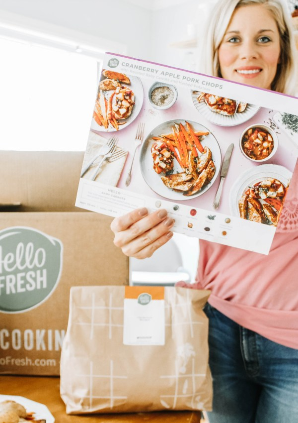 Hello Fresh Making Dinner EASY!