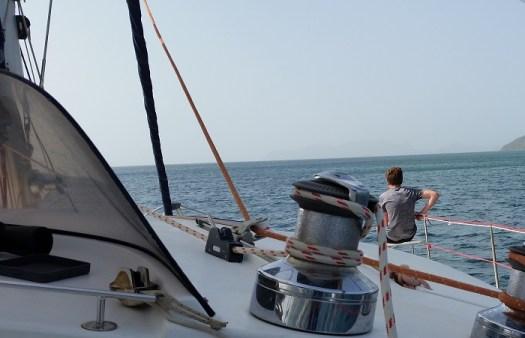 Sailing on a catamaran in The Grenadines - Lazuli Sailing
