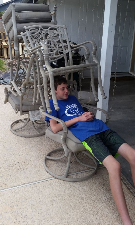 Gavin and chairs