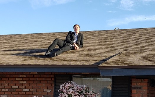Gavin Grad Picture on the Roof