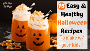15 Easy and Healthy Halloween Recipes to Make with Your Kids