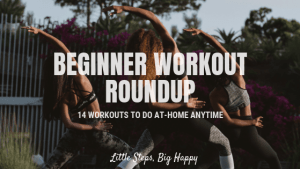 Beginner workout roundup