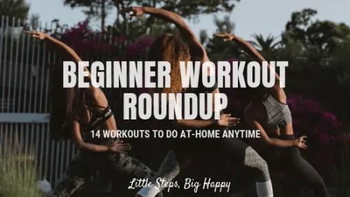 Beginner workout roundup