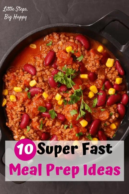 10 No-Cook Meal Prep Ideas