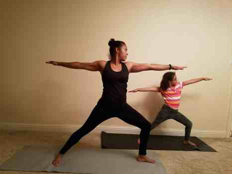 Family Friendly Yoga Routine: Warrior II Left Side