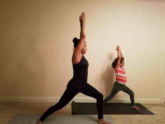 Family Friendly Yoga Routine - Little Steps, Big Happy