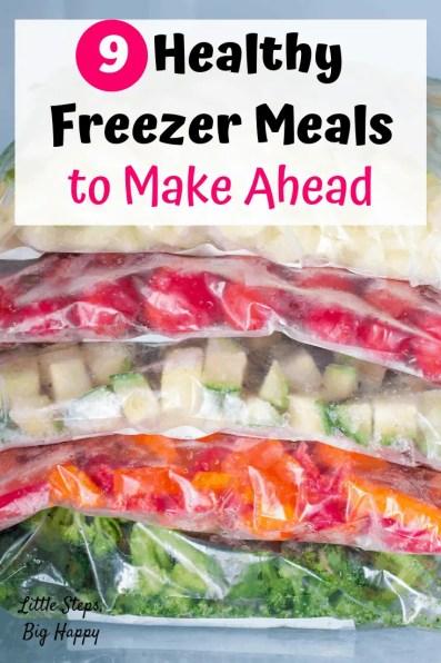 9 Healthy Freezer Meals to Make Ahead