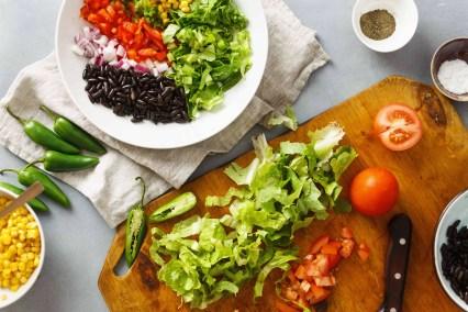No-Cook Meal Prep Ideas: Taco Salad