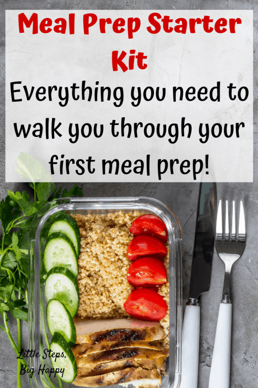 Meal Prep Starter Kit