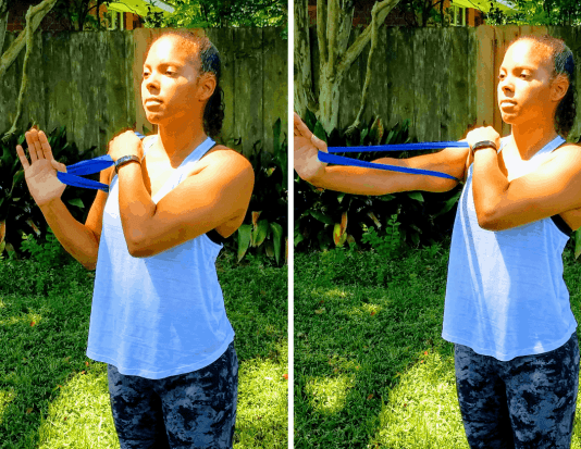 Chest Press - Loop Band
