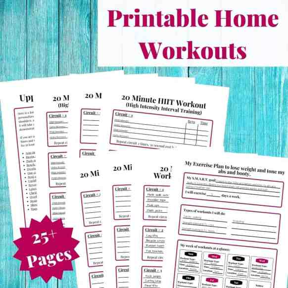 Printable Home Workouts