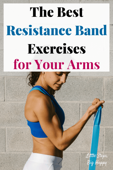 The Best Resistance Band Exercises for Arms